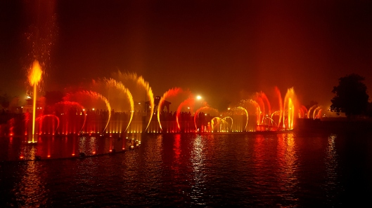 Lahore Fountain Lightshow